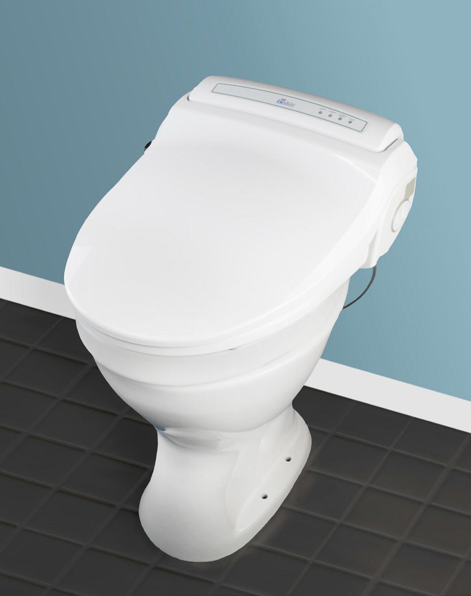 Bio Bidet 800 Bidet Toilet Seat For Intimate Hygiene