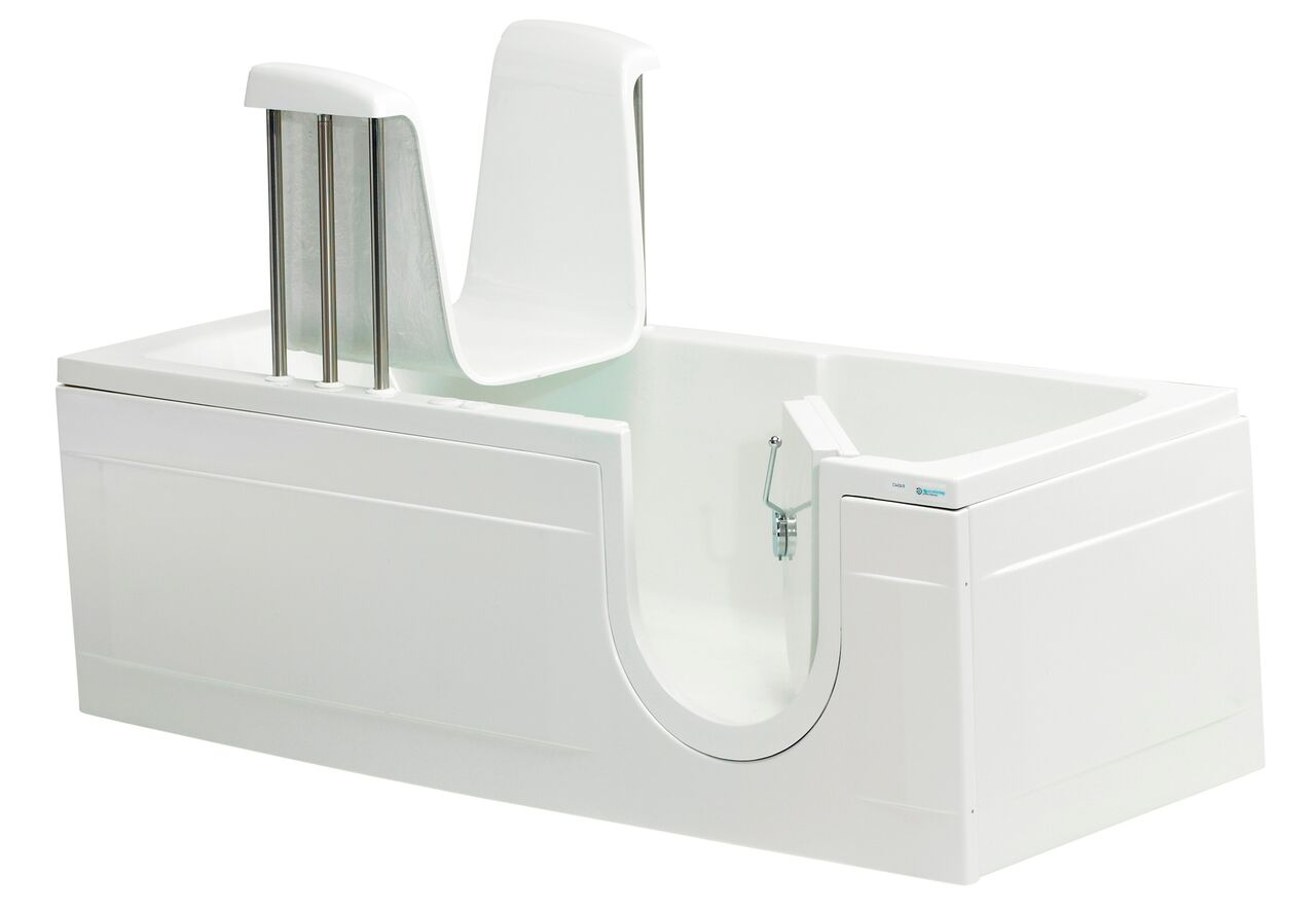 Cambridge Plus walk in bath with powered seat - Practical Bathing