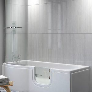 walk-in shower bath