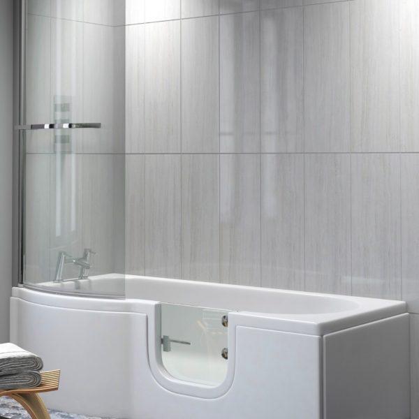 walk-in shower bath