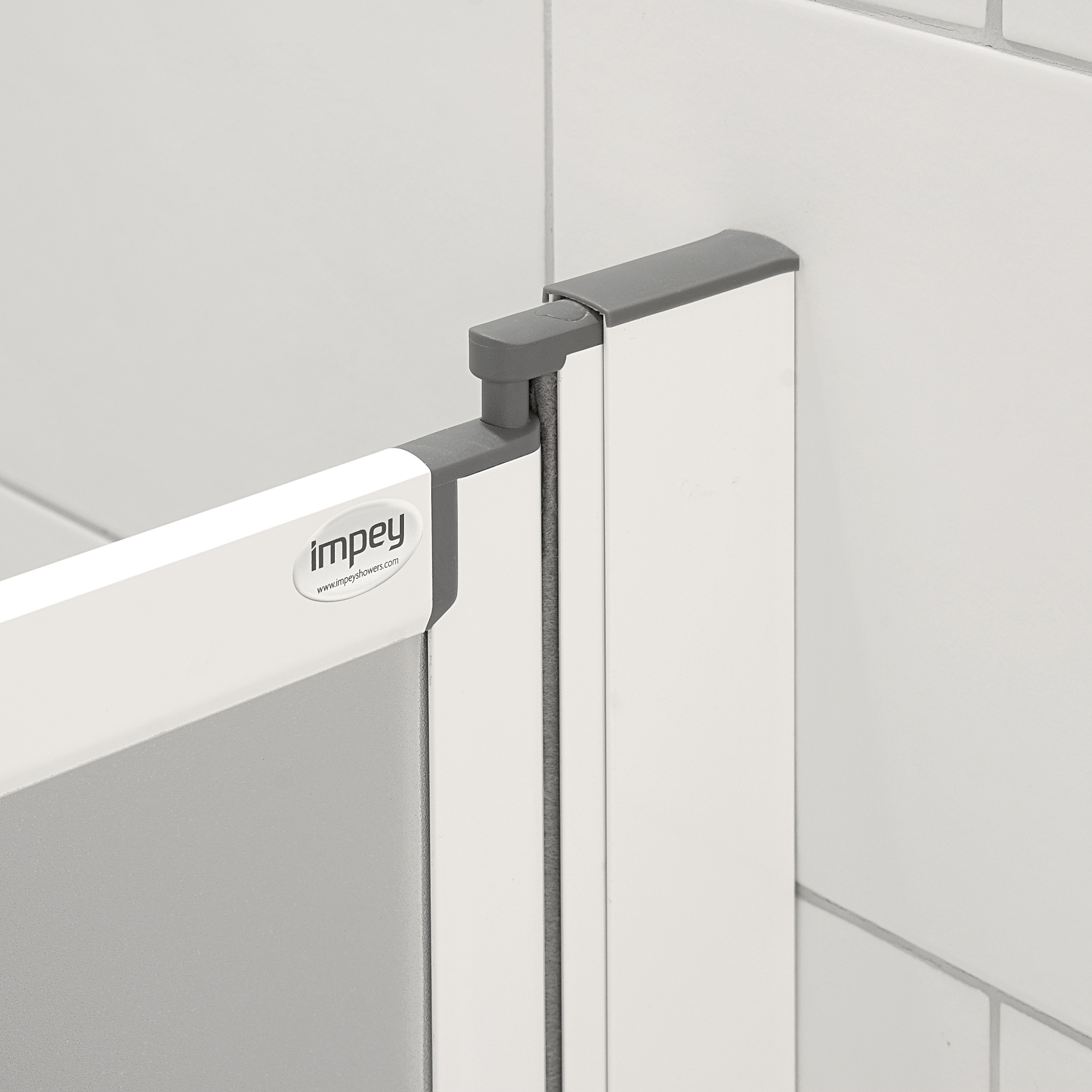 Half Height Shower Doors By Impey Practical Bathing