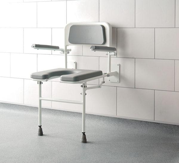 cutaway shower seat