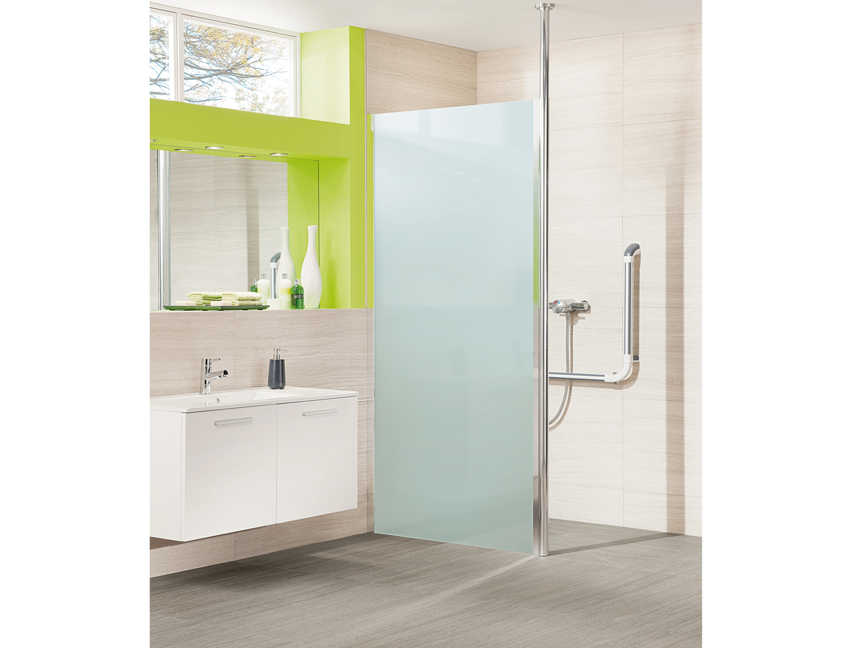Larenco Alcove Full Height Shower Enclosure Bi Fold Door