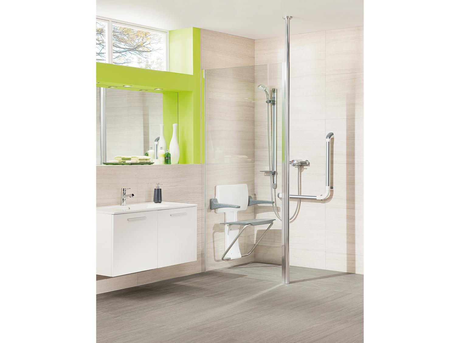 Glass Shower Panel Impey Supreme From Practical Bathing