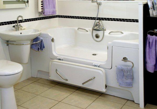 Solar Bath Trimming - Solar high level bath