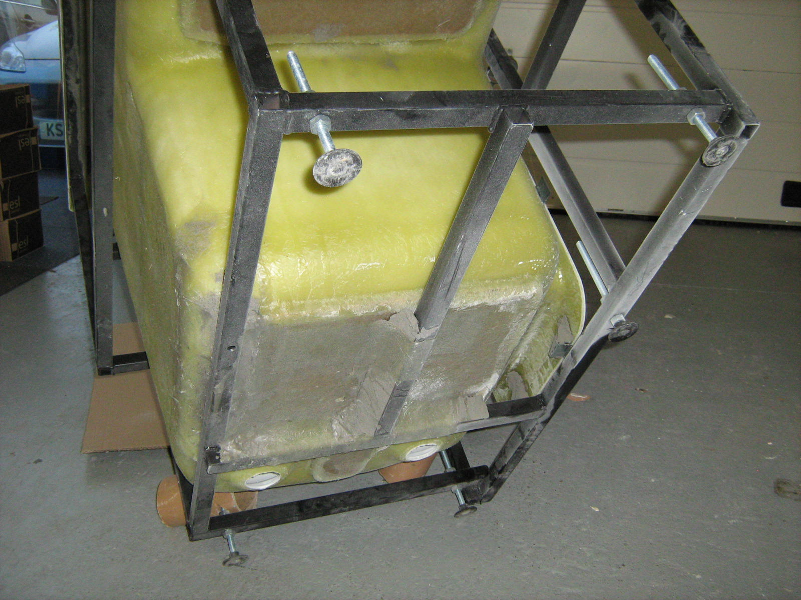 stock Sapphire 1 chassis